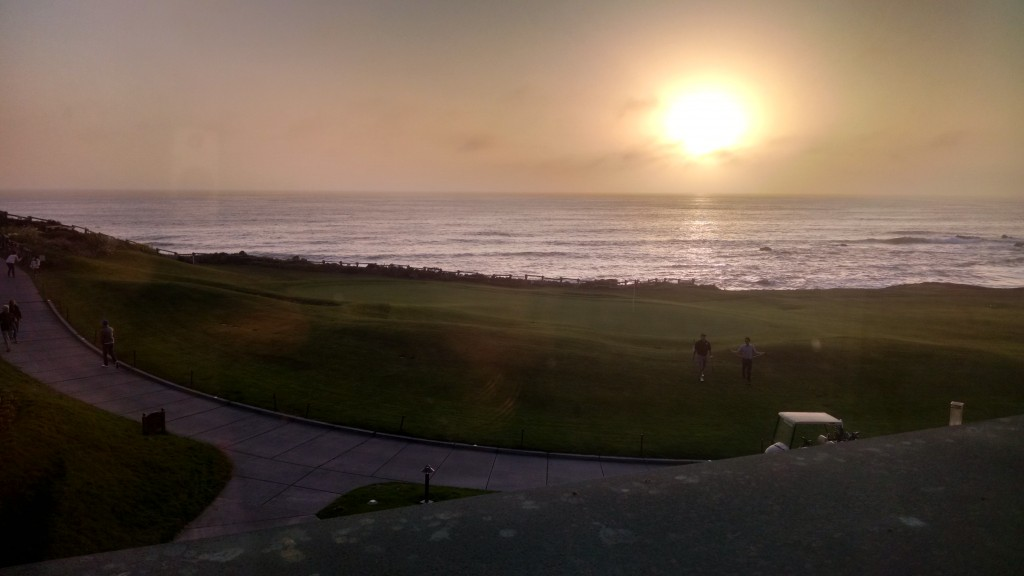 Sunset Ritz Carlton Half Moon Bay