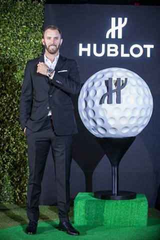 Dustin Johnson launches Hublot's golf watch in Shanghai